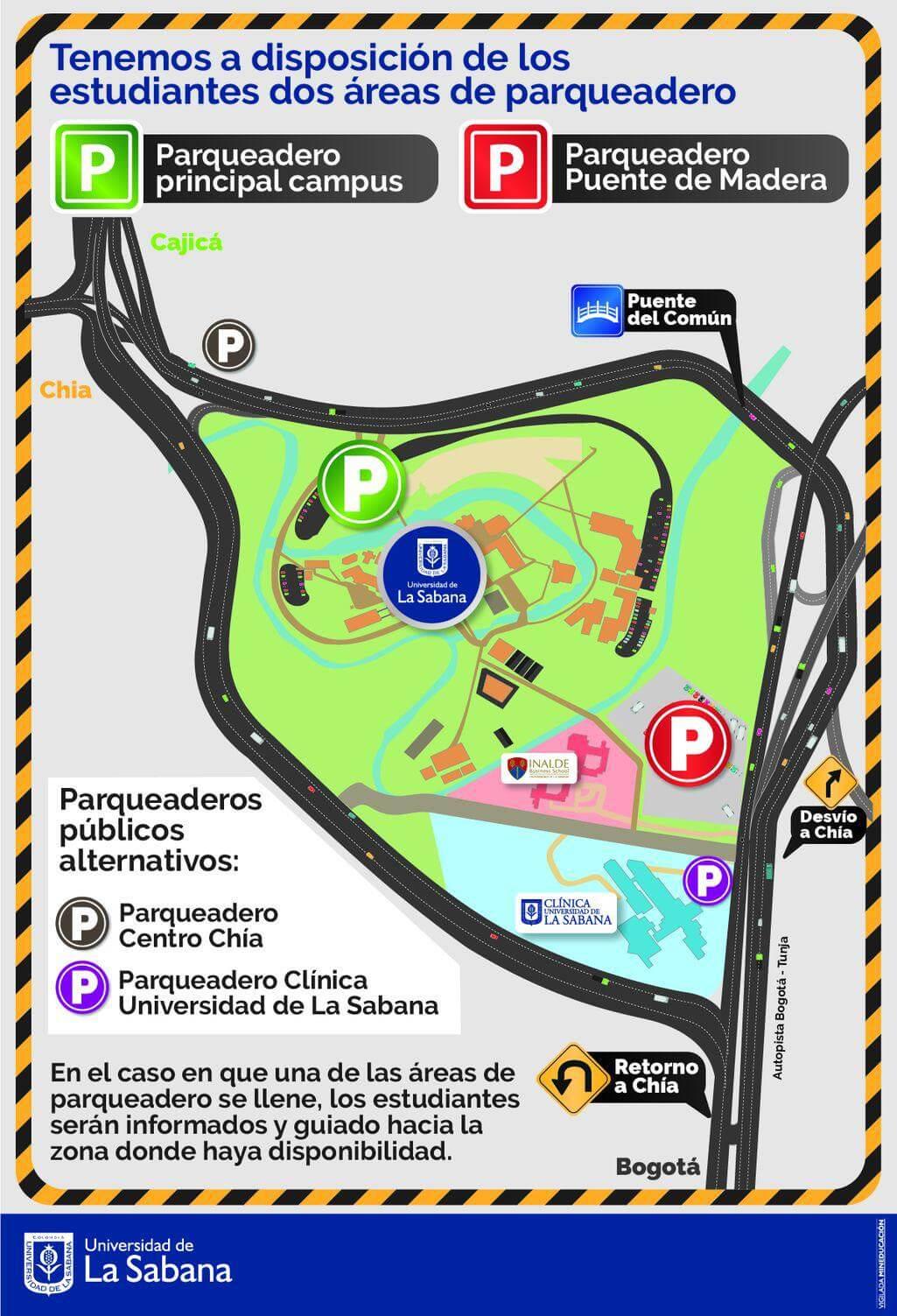 Ver mapa de parqueaderos